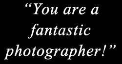 fantastic photographer